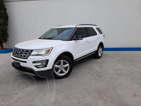 Ford Explorer XLT Piel usado (2017) color Blanco precio $495,000