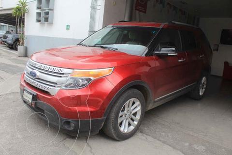 Ford Explorer XLT Base usado (2015) color Rojo precio $319,000