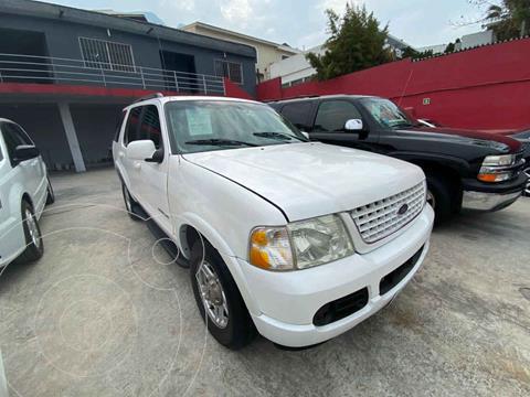 Ford Explorer XLS 4x2 4.0L usado (2002) color Blanco precio $80,000