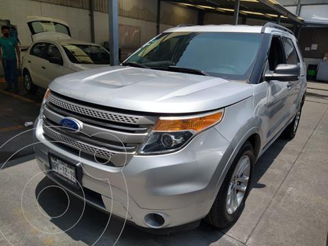 Ford Explorer XLT V6 4X2 VP AT usado (2011) color Plata precio $190,000