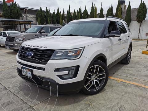 Ford Explorer Sport 4x4 usado (2017) color Blanco Oxford precio $564,000