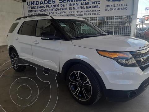 Ford Explorer SPORT V6/3.5 GTDI AUT usado (2015) color Blanco precio $345,000