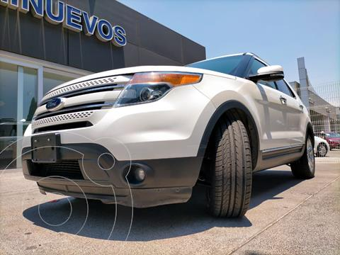 Ford Explorer Limited  usado (2013) color Blanco Platinado precio $280,000