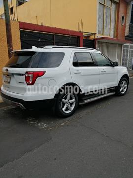 Ford Explorer XLT Tela usado (2016) color Blanco precio $330,000