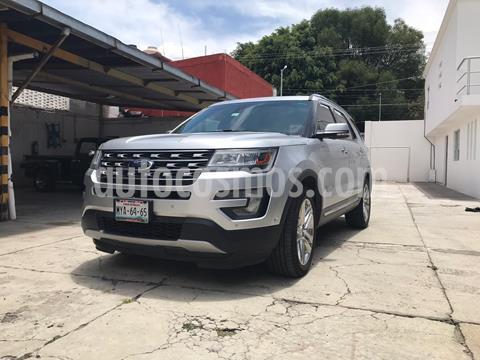 Ford Explorer Limited 4x4 usado (2016) color Plata precio $365,000