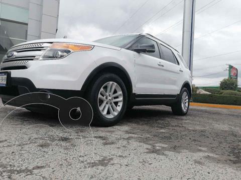Ford Explorer XLT Base Piel usado (2013) color Blanco precio $240,000