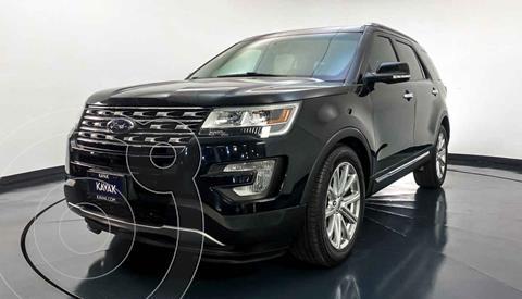 Ford Explorer Limited 4x4 3.6L  usado (2016) color Negro precio $477,999