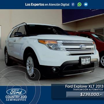 Ford Explorer XLT Base usado (2013) color Blanco precio $239,000
