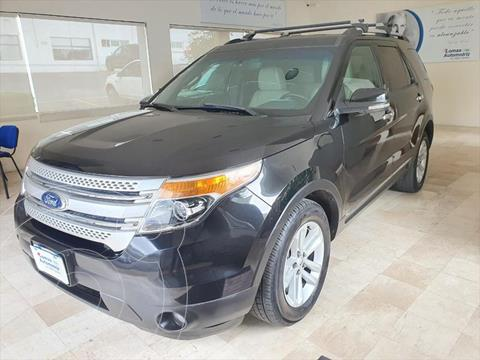 Ford Explorer XLT Piel usado (2013) color Negro precio $265,000