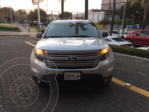 Ford Explorer XLT Tela usado (2014) color Plata precio $279,000