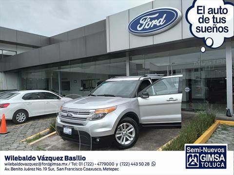 Ford Explorer XLT Tela usado (2014) color Plata precio $260,000