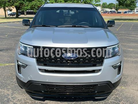 Ford Explorer Sport 4x4 usado (2018) color Plata precio $500,000