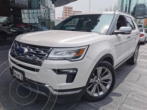 Ford Explorer Limited usado (2018) color Blanco Oxford precio $565,000