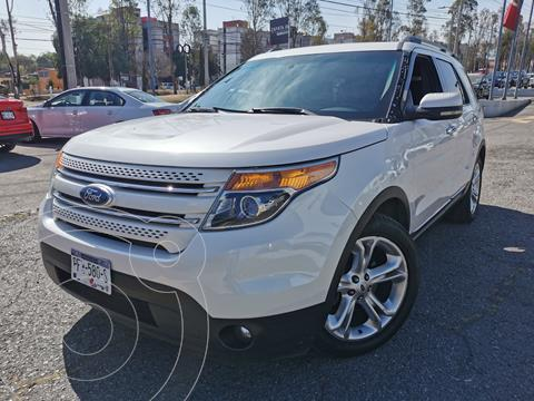 Ford Explorer Limited  usado (2012) color Blanco Platinado precio $250,000