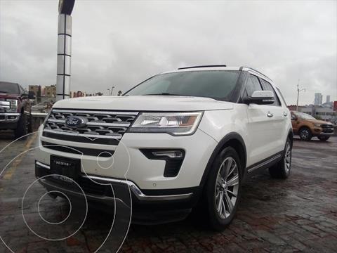 Ford Explorer Limited usado (2018) color Blanco precio $550,000