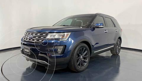 Ford Explorer Limited  usado (2016) color Azul precio $397,999