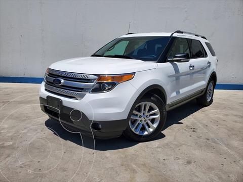 Ford Explorer XLT V6 usado (2014) color Blanco precio $280,000