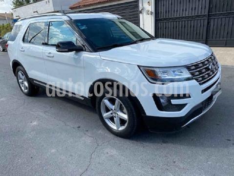 Ford Explorer XLT Base Piel usado (2016) color Blanco precio $420,000