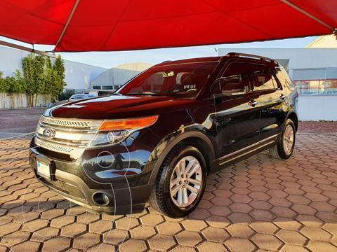 Ford Explorer XLT Piel usado (2014) color Negro Profundo precio $240,000