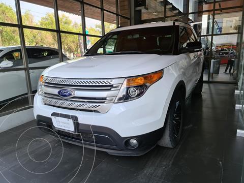 Ford Explorer XLT Tela usado (2014) color Blanco precio $250,000