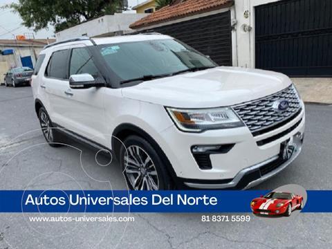 Ford Explorer Platinum 4x4 usado (2018) color Blanco precio $625,000