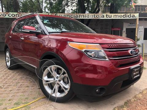 Ford Explorer Limited usado (2015) color Rojo precio $310,000