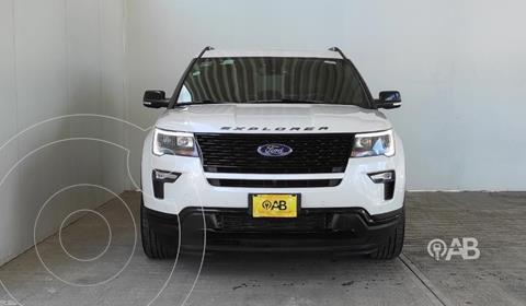 Ford Explorer Sport 4x4 usado (2019) color Blanco precio $640,000