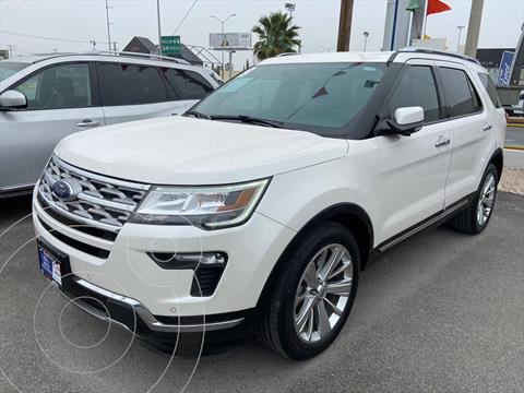 Ford Explorer Limited usado (2019) color Blanco precio $614,000