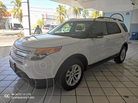 Ford Explorer XLT Tela usado (2014) color Blanco precio $245,000