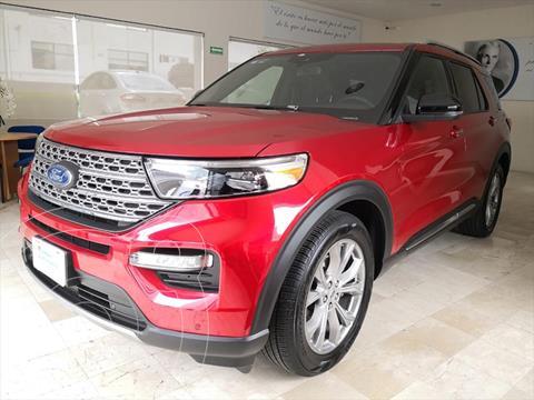 Ford Explorer LIMITED RDW usado (2020) color Rojo precio $910,000