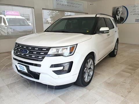 Ford Explorer Limited 4x4 usado (2016) color Blanco precio $418,000