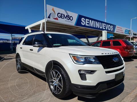 Ford Explorer Sport 4x4 usado (2019) color Blanco precio $680,000
