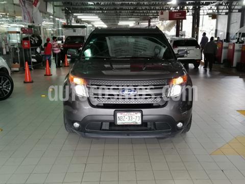 Ford Explorer 5P LIMITED V6 TA A/AC. AUT. QC DVD XENON SYNC usado (2013) color Gris precio $260,000