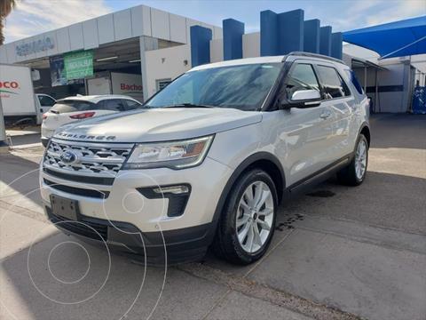Ford Explorer XLT Piel usado (2018) color Plata precio $520,000