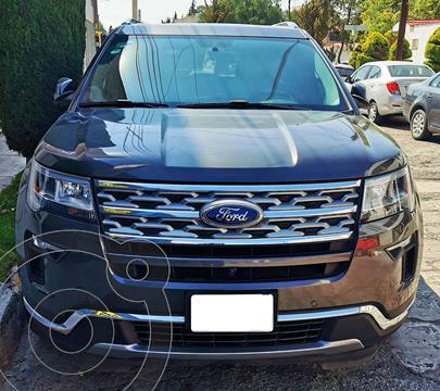 Ford Explorer Limited usado (2019) color Gris Nocturno precio $685,000