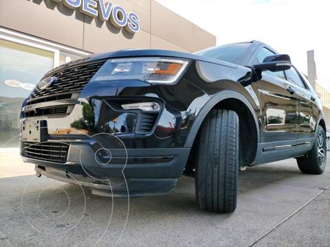 Ford Explorer Sport 4x4 usado (2018) color Negro Profundo precio $619,900