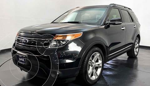 Ford Explorer Limited 4x2 3.6L  usado (2015) color Negro precio $364,999