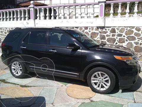 Ford Explorer XLT Piel usado (2013) color Negro precio $245,000