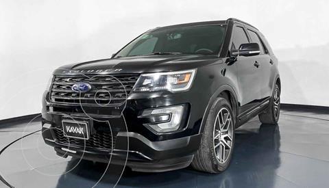 Ford Explorer Limited 4x4 3.6L  usado (2016) color Negro precio $519,999