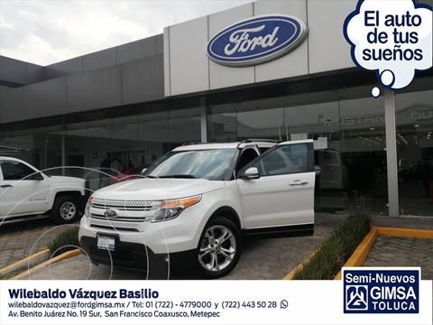 Ford Explorer LIMITED V6 usado (2015) color Blanco precio $295,000
