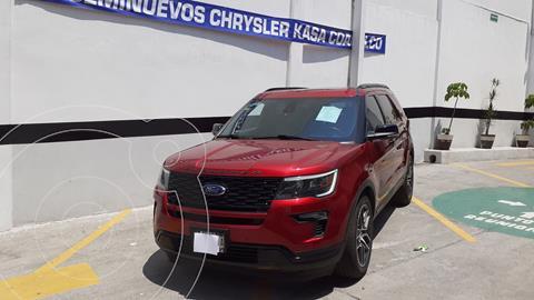 Ford Explorer Sport 4x2 usado (2019) color Rojo precio $650,000