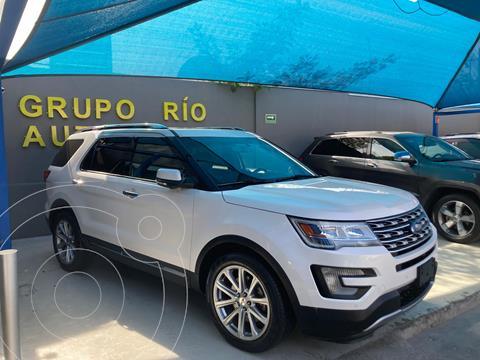 Ford Explorer Limited usado (2017) color Blanco precio $545,000