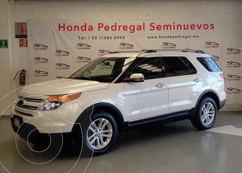 Ford Explorer Limited 4x4 3.6L  usado (2012) color Blanco precio $289,000