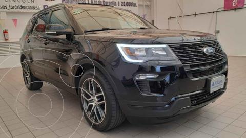 Ford Explorer Sport 4x2 Aut usado (2019) color Negro precio $665,000