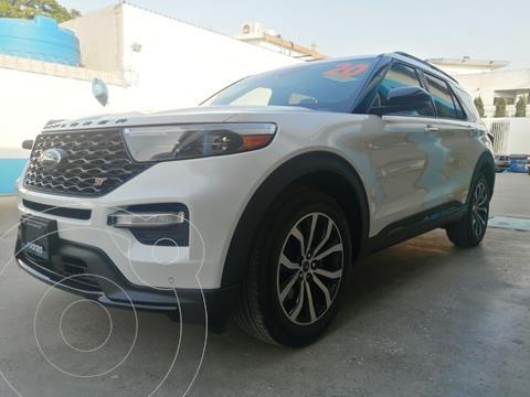 Ford Explorer XLT Piel usado (2020) color Blanco precio $1,050,000