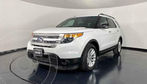 Ford Explorer XLT Tela usado (2013) color Blanco precio $249,999