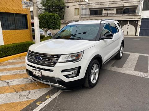 Ford Explorer XLT Tela usado (2017) color Blanco precio $389,900