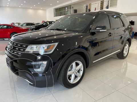 Ford Explorer XLT Piel usado (2017) color Negro precio $409,000