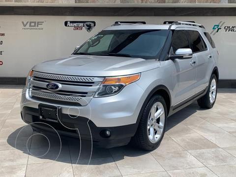 Ford Explorer Limited usado (2015) color Plata Dorado precio $345,000