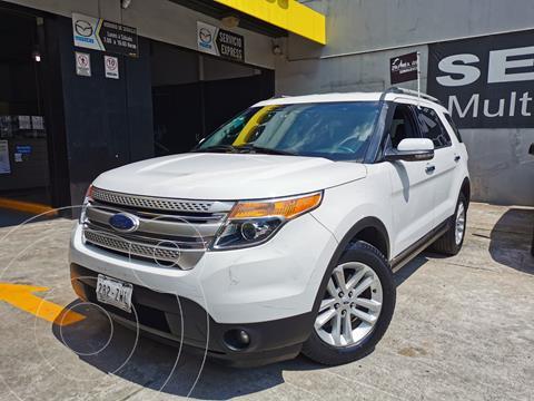Ford Explorer XLT Base usado (2013) color Blanco Platinado precio $255,000
